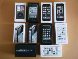 Empty Boxes for iPhones