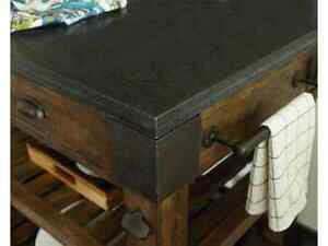 Solid wood**Granite Top** kitchen island/table for sale