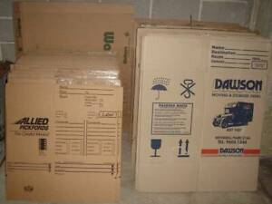 Moving Boxes Packing Cartons Removal Cartons HEAVY DUTY New Brassall Ipswich City Preview