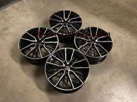 """18 19"""" Inch BMW 552 Style wheels 1 2 series F40 F44 F45 F46 F52 5X112 BLACK"""