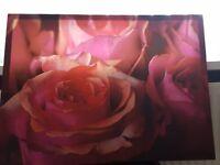 Rose Canvas frame