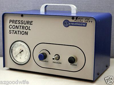 Stratagene 60102 Pres Cont Stat Electrophoresis Pressure Control Station