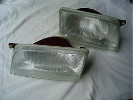 Pair of Vauxhall Astra headlights for Mark 2 Astra