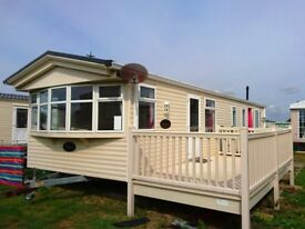 willerby Granada 2 bed with decking and amazing site fee offer 3 years site fees included