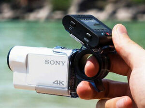NEW Sony HDR-AS200VR Action Cam with Live View Remote Bundle Kingston Kingston Area image 5