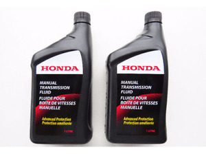 SET OF 2 Acura & Honda OEM Manual Transmission Fluid 087989031C