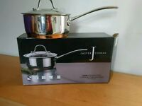 Jasper Conan small 16cm copper bottom saucepan