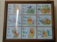 Winnie The Pooh alphabet picture