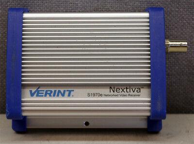 Verint Nextiva S1970e-r Networked Video Receiver Decoder 21-640-3611