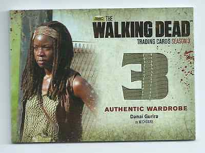 Walking Dead season 3 pt.2 costume card M30 Michonne SP seam variant