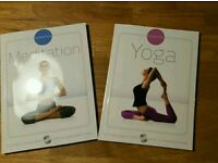 *New* Yoga and Meditation books with DVD's