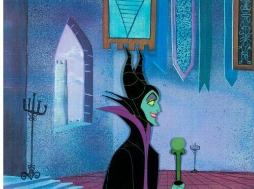 Sleeping Beauty Maleficent Production Cel (Walt Disney, 1959) Very Rare!