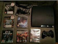 Sony PlayStation 3 Slim 120GB Charcoal Black Console (CECH-2003A