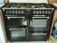 Stoves 1000 dual fuel Range cooker.