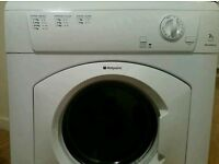 Vented hotpoint 7kg dryer