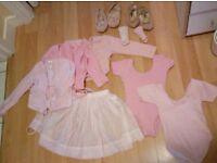 Little girl ballet outfits
