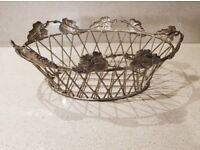 Queen Anne Fruit Bowl Silver Plated