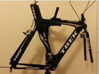 For sale is Trek Equinox 11 carbon frame and forks.
