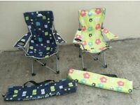 Children's Foldable Camping Chairs