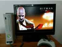 """XBox 360 with TV LG 19"""""""