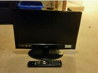 Logik 19 inch LCD Television TV/DVD Combi + Remote HD Ready
