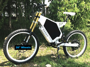 Brand NEW Full suspension 5000 watt + long range Electric bike