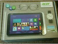 Acer icona w/ 3 tablets in boxes complete with chargers selling as spares