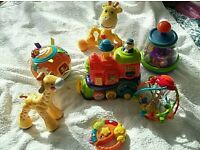 Bundle of baby Toys V-Tech fisher price Little Tykes