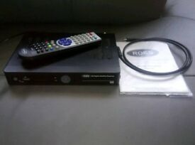 Ross freesat tv television reciever with remote, manual and hdmi cable