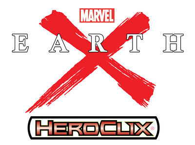 Heroclix Earth X Booster Brick (10 ct.) + Token Pack