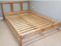 Fjellse IKEA Double sized bed frame