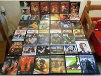 Mixed lot of 50 dvds