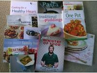 A selection of Cook Books. £3 for All.