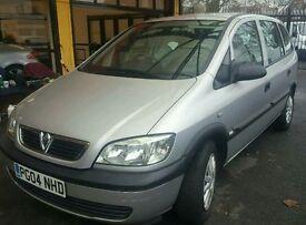 Vauxhall zafira 1.6 petrol 80k 12 mot