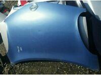 2003 nissan micra bonnet blue painr code t12