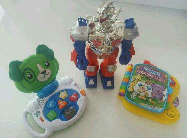 Set of 3 kids toys