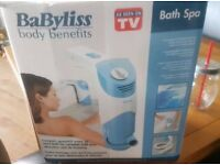 Babyliss body benefits bath spa