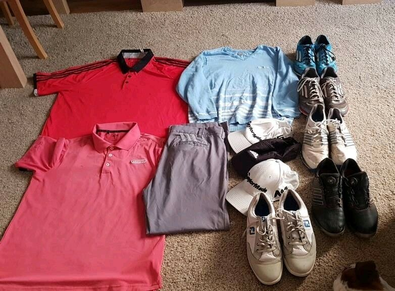 Golf Clothing - Adidas Taylormade Footjoy