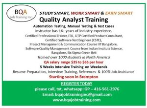QA SOFTWARE TESTING MANUAL & AUTOMATION COURSE STARTING SOON