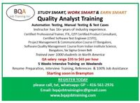 QUALITY ANALYST AUTOMATION - SELENIUM COURSE STARTING 28TH OCT