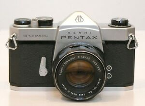 Pentax SPOTMATIC 1000, SMC Takumar or Ricoh Sears 55mm f1.8 lens