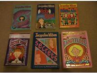 Jacqueline Wilson books x 6 set F