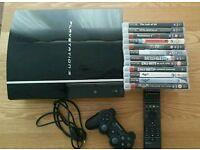 PS3 80gb console bundle