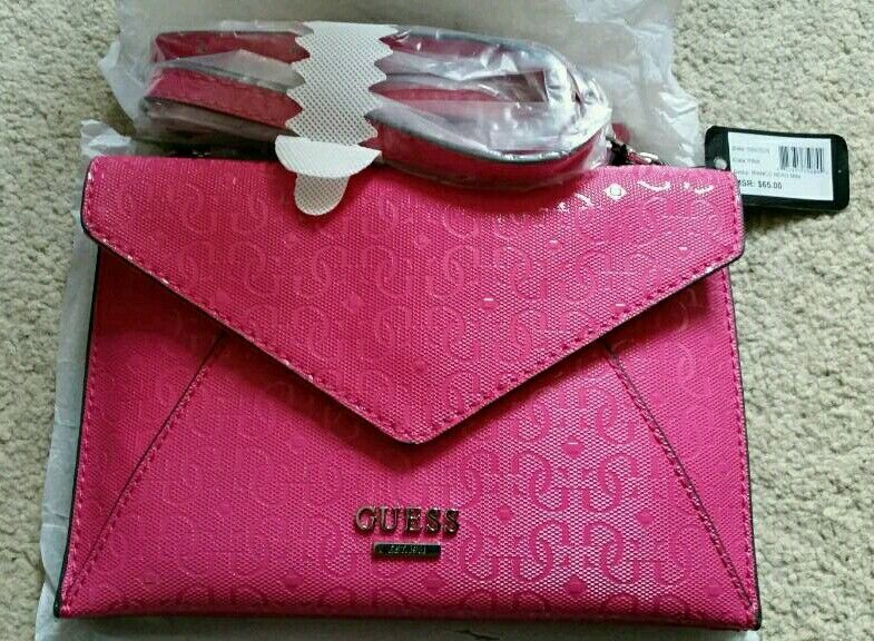 f33cb689d8 Genuine Small Pink Guess Bag