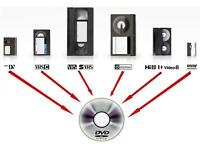 We convert VHS/camcorder/cassette tapes&vinyl records to digital
