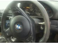 Bmw e46 M sport steering wheel saloon/coupe