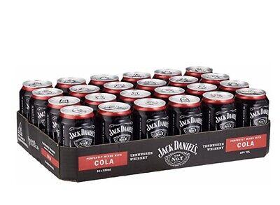 Jack Daniels & Cola Mixgetränk 10% Vol 24x 330ml (3.04€ stk Inkl. Ver+pf)