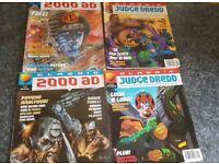 2 x Classic Judge Dredd 2 x Classic 2000ad