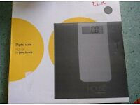 John Lewis digital scale house bathroom weight reading