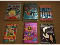 Jacqueline Wilson books x 6 set A